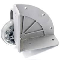 Adam Hall 37500 S - Eckaufbaurolle mit weichem Rad 75 mm