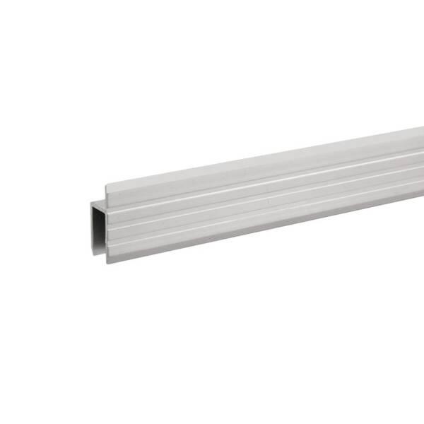 Adam Hall 6130 Aluminium h-Profil für 9,5 mm Serviceklappen