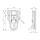 Adam Hall 16081 - Kofferschloss mit Öse für Vorhängeschloss vernickelt 50 x 78 mm