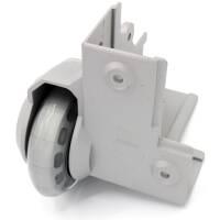 Adam Hall 37501 S - Eckaufbaurolle mit weichem Rad 75 mm