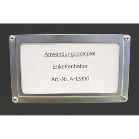 Adam Hall 2890 Etikettenhalter für...