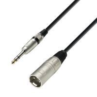 1 m Audiokabel XLR male auf 6,3 mm Klinke stereo