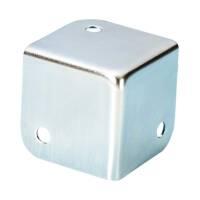 Adam Hall 4000 Flache Caseecke 37 mm quadratisch verzinkt