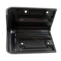 Adam Hall 4009 Boxenecke Kunststoff schwarz stapelbar