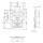 Adam Hall 172511 L V3 Automatik Butterfly Verschluss groß abschließbar gekröpft 14 mm tief