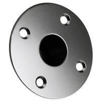 Adam Hall SM 701 - Boxenflansch Einbauflansch Stahl schwarz