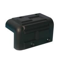 Adam Hall 4071 - Boxenecke Kunststoff stapelbar schwarz