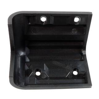 Adam Hall 4072 Boxenecke schwarz stapelbar