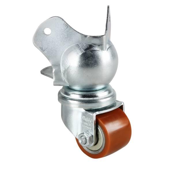 Adam Hall 37441 - Eckaufbaurolle 35 mm auf Kugelecke mittel