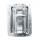Adam Hall 270837 - Deckelaufsteller groß gekröpft mit Scharnier und Klick-Stop-Funktion