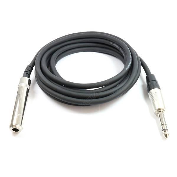 6 m Kopfhörer Verlängerungskabel 6,3 mm Klinke stereo