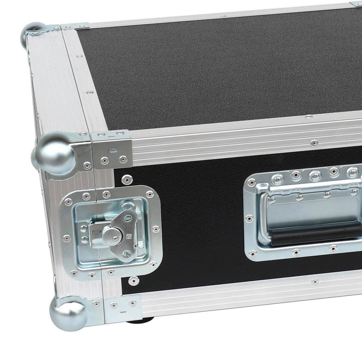 4 he amp rack 19 double door 45 cm flightcase 7 mm mpx. Black Bedroom Furniture Sets. Home Design Ideas