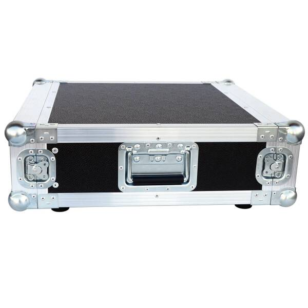 3 HE Amp Rack 19 Double Door 45 CM Flightcase 7 mm MPX Butterfly