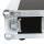 """3 HE Amp Rack 19"""" Double Door 45 CM Flightcase 7 mm MPX Butterfly"""