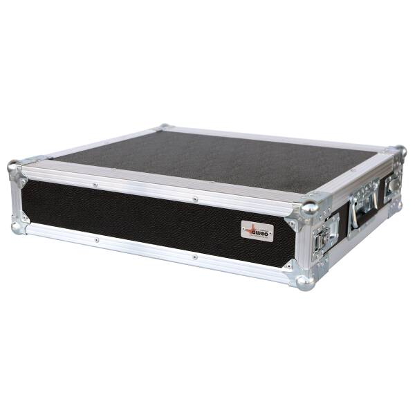 2 HE Amp Rack 19 Double Door 45 CM Flightcase 7 mm MPX Butterfly