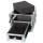 2 HE Half Size Rack für Sennheiser EW Funkempfänger mit Schublade