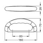 Penn Elcom HG 4245 Koffergriff Kunststoff schwarz 160 mm
