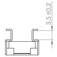 Adam Hall 5650 Käfigmutter M6 für 3,5 mm Materialstärke u. Adam Hall 6150