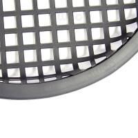 """Lautsprecher Schutzgitter rund 8"""" Stahl schwarz 21 cm"""