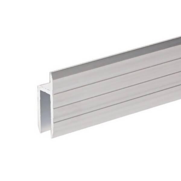 Adam Hall 6126 Aluminium h-Profil für 7 mm Serviceklappen
