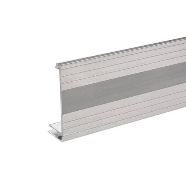 2 m Adam Hall 6112 Aluminium Bodenrahmen 80 mm Einschub 7 mm