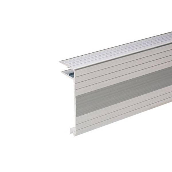 2 m Adam Hall 6113 Aluminium Deckelrahmen 75 mm Einschub 9,5 mm
