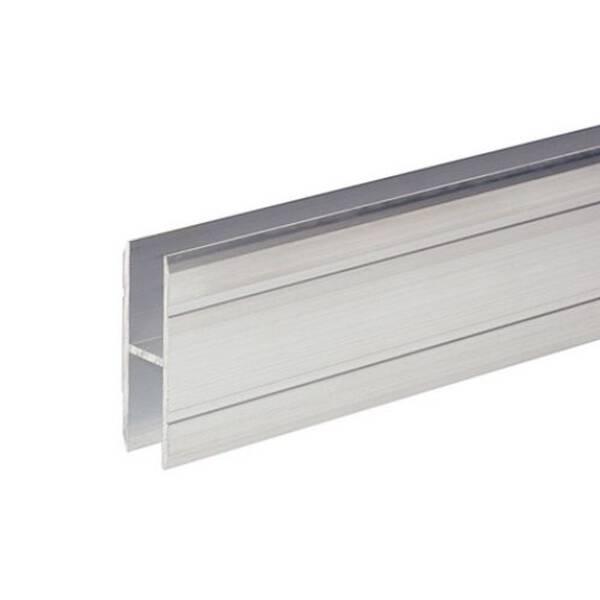1 m Adam Hall 6127 Aluminium  H-Profil 40 mm Ansatzprofil 10 mm Einschub