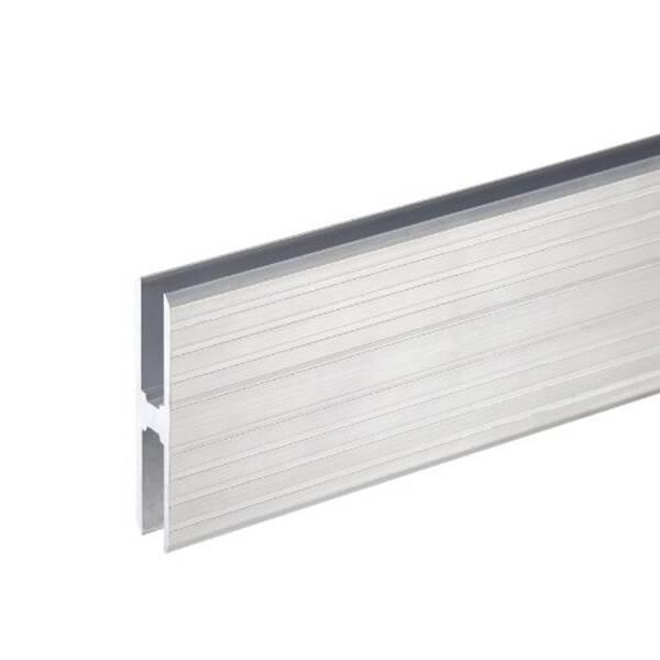 1 m Adam Hall 6128 Aluminium H-Profil 70 mm Ansatzprofil 10 mm Einschub