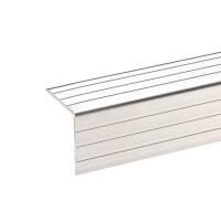 1 m Adam Hall 6105 Aluminium Kantenschutz 30x30 mm