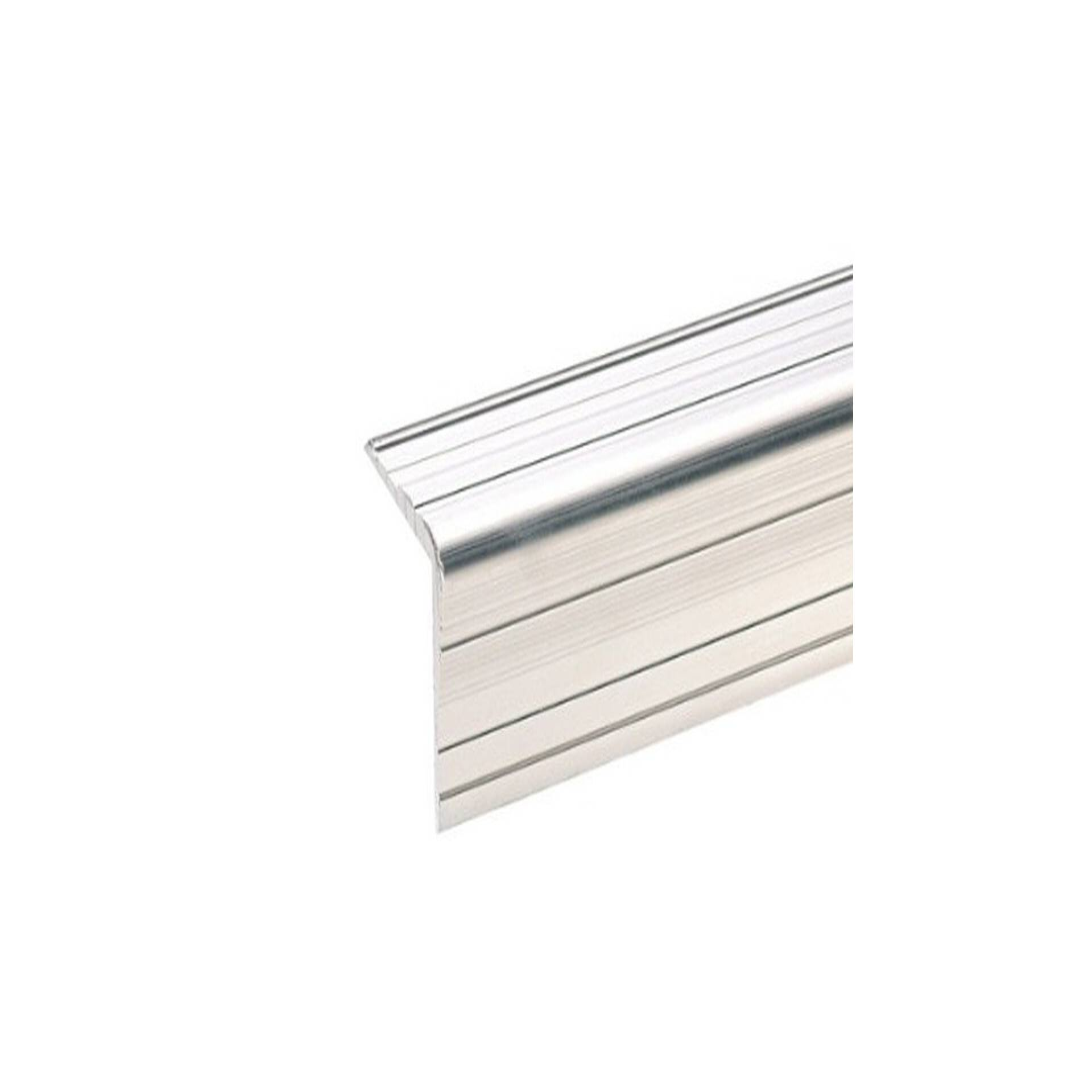 1 m adam hall 6110 aluminium kantenschutz 33 x 33 mm mit nietenkopfri. Black Bedroom Furniture Sets. Home Design Ideas