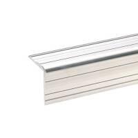 1 m Adam Hall 6110 Aluminium-Kantenschutz 33 x 33 mm mit Nietenkopfrille