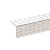 2 m Adam Hall 6115 Aluminium Kantenschutz 25x25 mm