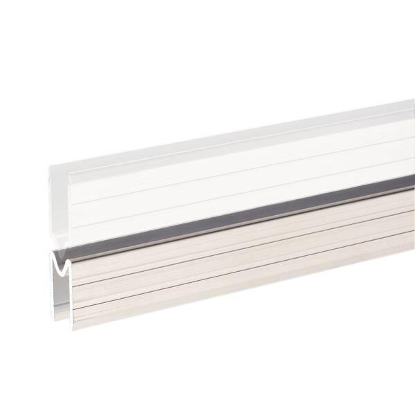 2 m Adam Hall 6123 F Aluminium Schließprofil female Einschub 9,5 mm