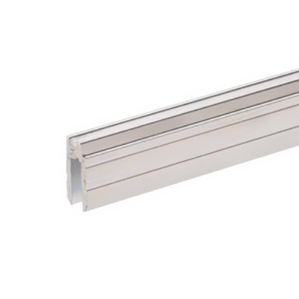 2 m Adam Hall 6132 Aluminium Hybrid Schließprofil Einschub 4 mm