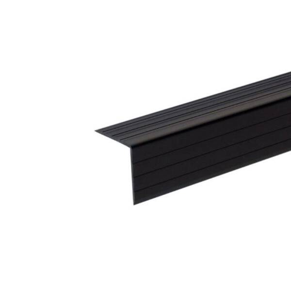 2 m Adam Hall 6605 Kunststoff Kantenschutz 30x30mm schwarz
