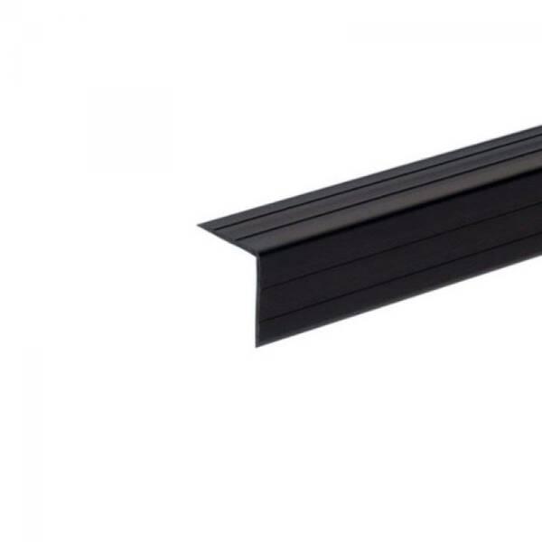 1 m Adam Hall 6609 Kunststoffkantenschutz 22x22 mm schwarz