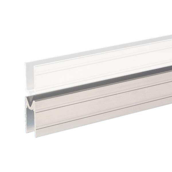 1 m Adam Hall 6144F Aluminium Schlie�profil female f�r 9,6 mm Material