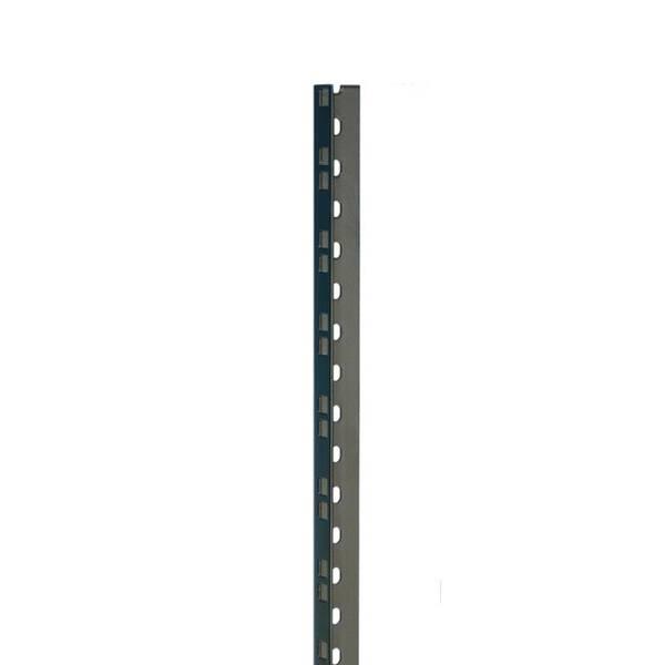 Adam Hall 61532 BLK Rackschiene gestanzt 45 HE Einzel Stahl schwarz