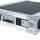 """2 HE Amp Rack 19"""" Double Door 45 CM Flightcase Butterfly PVC schwarz"""