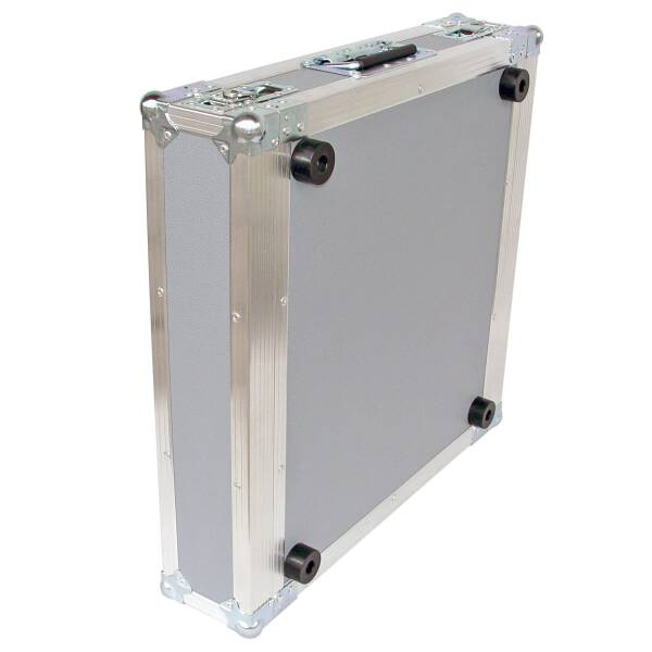2 HE Rack 19 Double Door 39 CM Flightcase Butterfly grau