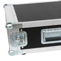 """4 HE Rack Case 19"""" Double Door Rack 45 CM PVC schwarz"""