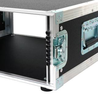 """4 HE Rack Case 19"""" Double Door Rack 39 CM PVC schwarz RSH"""