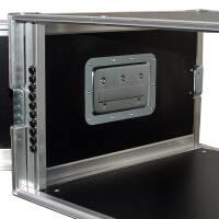 """5 HE Rack 19"""" Double Door 39 CM Flightcase grau RSH"""
