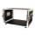 """6 HE Amp Rack 19"""" Double Door 45 CM Flightcase PVC schwarz RSH"""