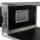 """6 HE Rack 19"""" Double Door 39 CM Flightcase 7 mm MPX"""