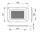 Einbau Lüftungsschale Lüftungsgitter 178 x 127 mm