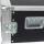 """8 HE Rack 19"""" Double Door 39 CM Flightcase blau"""