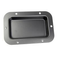 Adam Hall 8705 BLK Boxen Einbauplatte ungestanzt schwarz